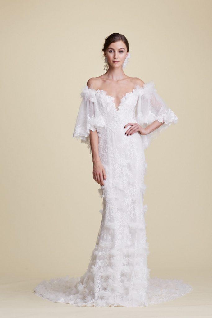 rochia de mireasa Marchesa/ Couture/ Tresor Le Palais