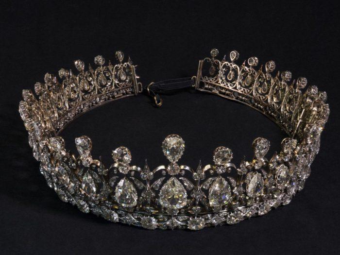 diadema diamante/ Tresor Le Palais