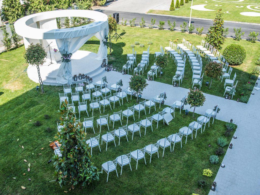 wedding Tresor Le Palais/ nunta in aer liber